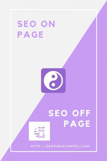 SEO on page y off page seoparatorpes