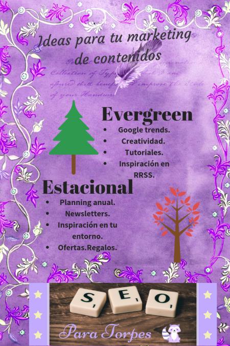 tematicas evergreen y estacionales ideas e inspiracion