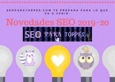 Tendencias SEO 2019 y 2020